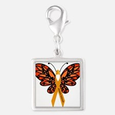 MS Heart Butterfly Charms