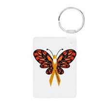 MS Heart Butterfly Keychains