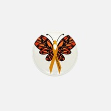 MS Heart Butterfly Mini Button (100 pack)
