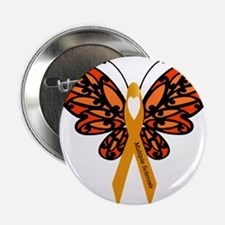 """MS Heart Butterfly 2.25"""" Button (10 pack)"""