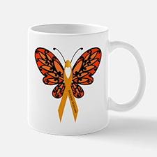 MS Heart Butterfly Mugs