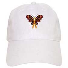 MS Heart Butterfly Hat