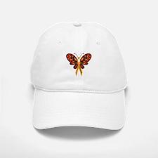 MS Heart Butterfly Hat