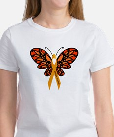 MS Heart Butterfly T-Shirt