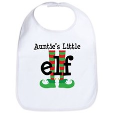Auntie's Little Elf Bib