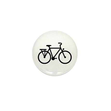 City Bicycle bike Mini Button (10 pack)