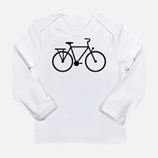 City Bicycle bike Long Sleeve Infant T-Shirt