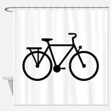 City Bicycle bike Shower Curtain