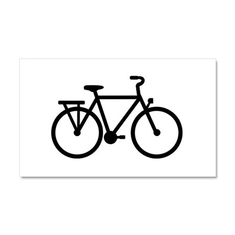 City Bicycle bike Car Magnet 20 x 12