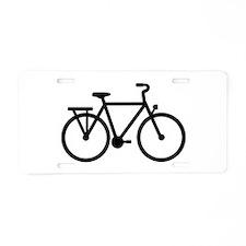 City Bicycle bike Aluminum License Plate