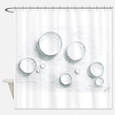 Cool Bubble Shower Curtain