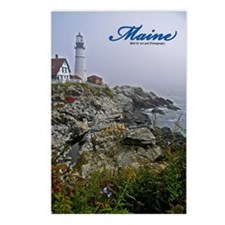 Maine Lighthouse Postcards (Package of 8)
