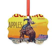 Vintage Fruit Crate Label Ornament