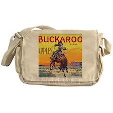 Vintage Fruit Crate Label Messenger Bag