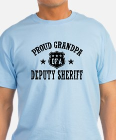 Proud Grandpa of a Deputy Sheriff T-Shirt