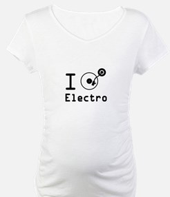 I play Electro Music / I love El Shirt