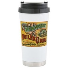 Vintage Label Art Travel Mug