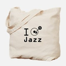 I Play jazz I play jazz / I love jazz / D Tote Bag