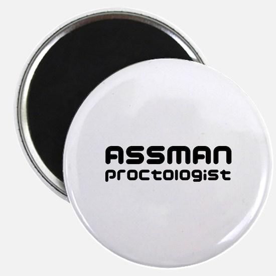 Assman proctologist  Magnet