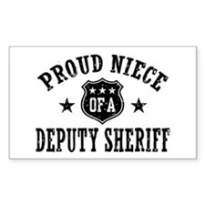Proud Niece of a Deputy Sheriff Decal