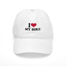 I love my bike Baseball Cap