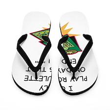 ROULETTE3 Flip Flops