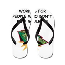 ROULETTE1 Flip Flops