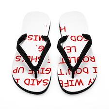 ROULETTE Flip Flops