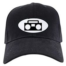 Radio Music ghettoblaster Baseball Hat