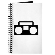 Radio Music ghettoblaster Journal