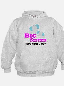 Custom Big Sister Elephant Hoodie