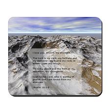 Psalm 18 Mousepad