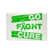 Cerebral Palsy Go Fight Cure Rectangle Magnet
