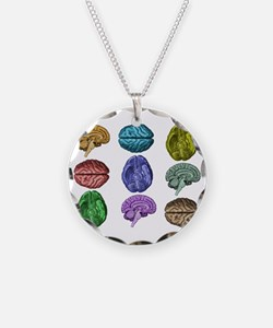 C Brain Necklace