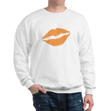 Orange Lips Sweatshirt