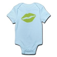 Green Lips Body Suit