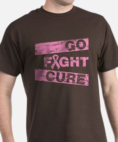 Breast Cancer Go Fight Cure T-Shirt