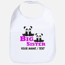 Custom Big Sister Panda Bib