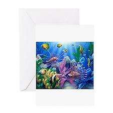 Ocean Life Greeting Cards