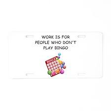 BINGO1 Aluminum License Plate