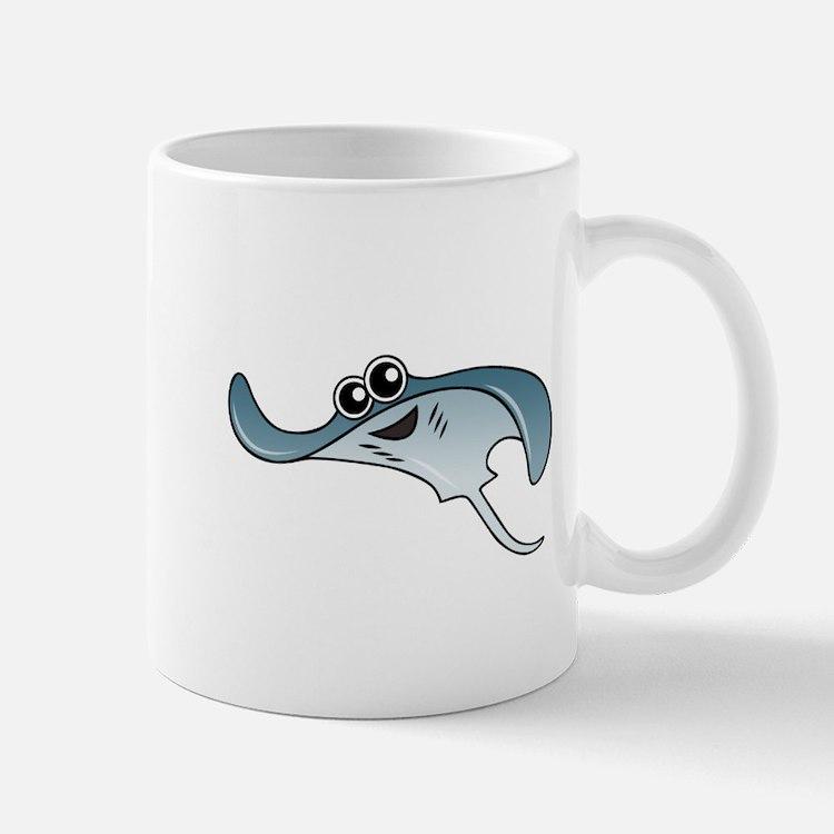 Cartoon Stingray Mug