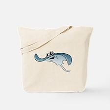 Cartoon Stingray Tote Bag