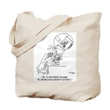 Peeping Tom With a Microscope Tote Bag