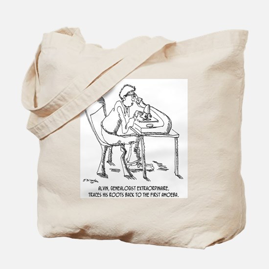 Tracing Your Roots Way Way Back Tote Bag