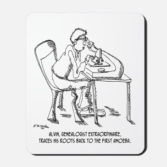 Tracing Your Roots Way Way Back Mousepad