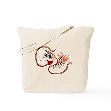 Cartoon Shrimp Tote Bag