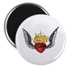 I Love You Winged Heart Magnet