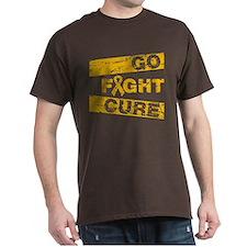 Appendix Cancer Go Fight Cure T-Shirt