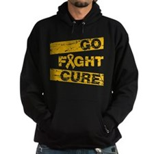 Appendix Cancer Go Fight Cure Hoodie
