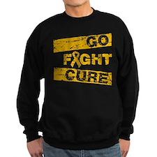 Appendix Cancer Go Fight Cure Sweatshirt